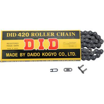 DID 420 - Standard Series Non O-Ring Chain - 90 Links  D18-421-90