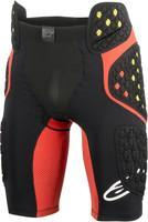 ALPINESTARS SEQUENCE PRO SHORTS BLACK/RED 6507718-13
