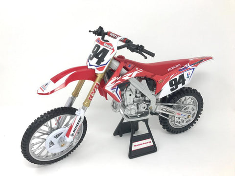 NEW-RAY REPLICA 1:6 RACE BIKE 17 HONDA CRF450R RED(ROCZEN)   49593