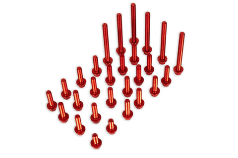 Engine Bolt Kit, Red, 2020+ RR/RR-S 4 Stroke  AB-22121-4