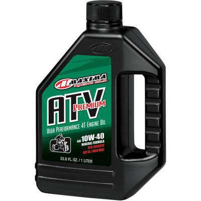 MAXIMA ATV PREMIUM SAE 10W40 4-CYCLE OIL 1 LITER