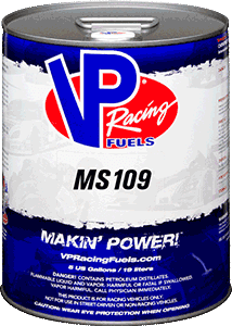 VP RACING FUEL MOTORSPORT 109 (MS109) 5 GALLON PAIL