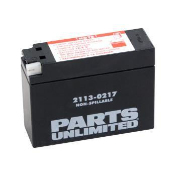 PARTS UNLIMITED BATTERY Factory-Activated AGM Maintenance-Free YT4B-BS
