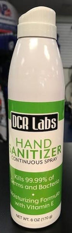 DCR LABS HAND SANITIZER SPRAY 6oz