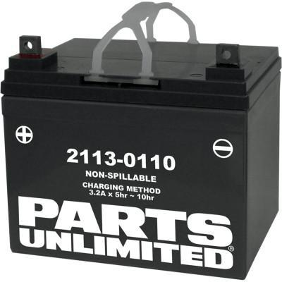 PARTS UNLIMITED BATTERIES  AGM Battery - U1-32 Rhino  2113-0110