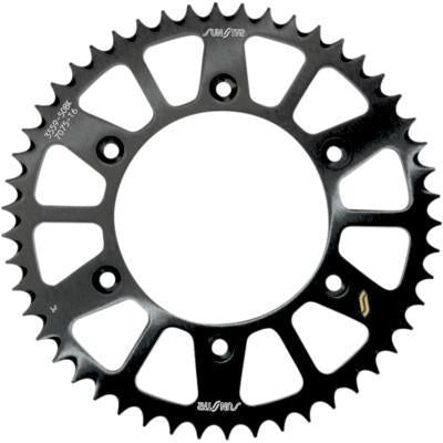 SUNSTAR SPROCKETS  Rear Sprocket - 51-Tooth - Honda - Black  5-355951BK