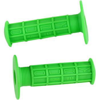 OURY WAFFLE Original MX Grips Green OSCXWA70