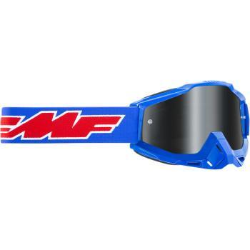 FMF VISION PowerBomb Sand Goggles - Rocket - Blue - Smoke  F-50201-102-02