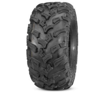 QuadBoss QBT447 Utility Tires  27x9-12, Bias, Front, 6 Ply, Directional  608979