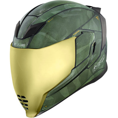 ICON Airflite™ Battlescar 2 Helmet Green