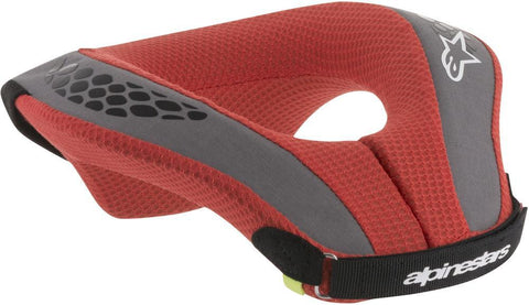 ALPINESTARS YOUTH SEQUENCE NECK SUPPORT BLACK/RED  6741018-13