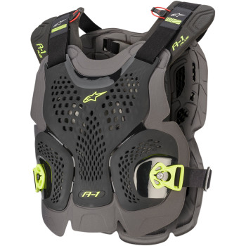 ALPINESTARS (MX) A-1 Plus Chest Protector - Black/Yellow   67001201155