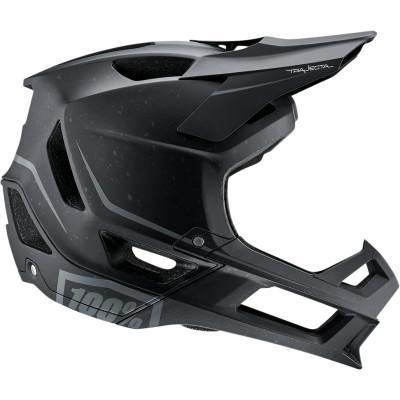 100%  Trajecta Helmet - Black - Small  Trajecta Essential Black Helmet