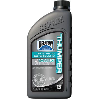 BEL-RAY  Thumper Synthetic Blend 4T Oil - 10W-40