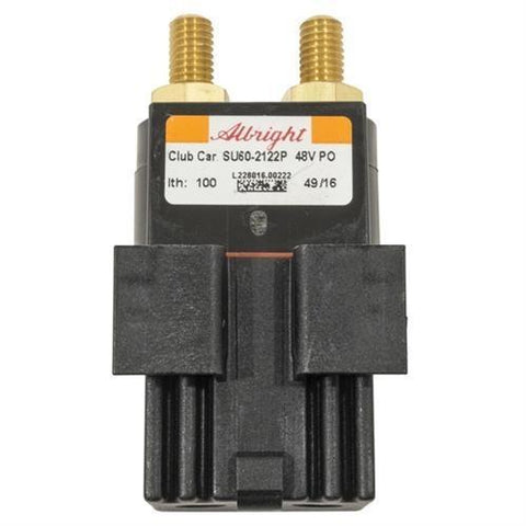 Club Car Precedent 48V Slot Mount Solenoid With No Diode (Years 2015-Up)  102865901
