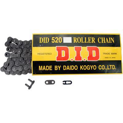DID CHAIN 520 - High-Performance Motorcycle Chain - 114 Links  D18-521-114