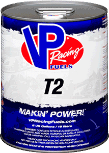 VP RACING FUEL T2 5 GALLON PAIL