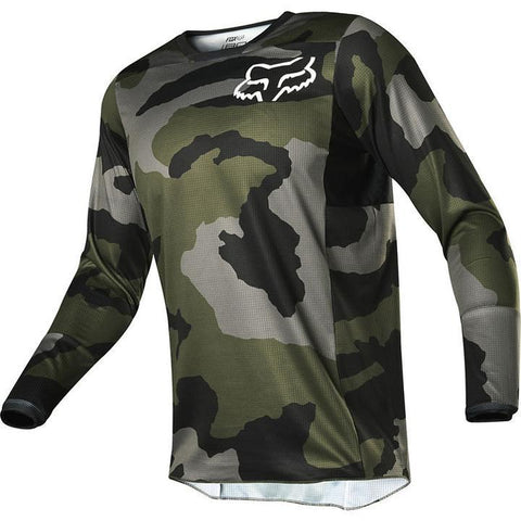 FOX RACING 180 PRZM CAMO JERSEY YOUTH LARGE