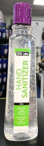 DCR LABS HAND SANITIZER GEL 16oz