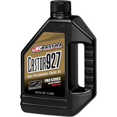 MAXIMA CASTER 927 HIGH PERFORMANCE 2-CYCLE OIL PRO SERIES RACING FORMULA 1 LITER