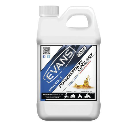 EVANS WATERLESS POWERSPORTS COOLANT .5 US GALLONS  EC72064