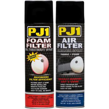 PJ1 FOAM FILTER CARE KIT 15oz SPRAYS  15-202