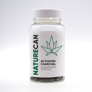 Naturecan Activated Charcoal – 90 капсули