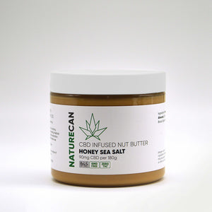CBD Infused Nut Butter - Honey Sea Salt