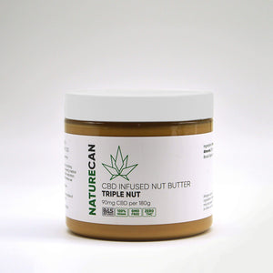 Manteiga de Frutos secos infundida com CBD - Triple Nut