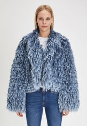 DENIM FUR