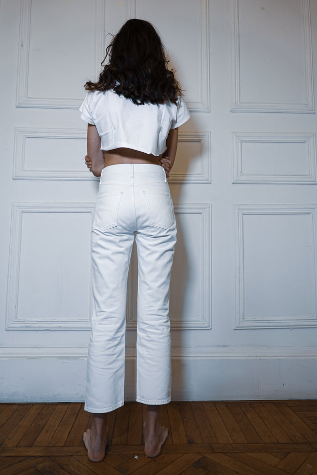 PERFECT HIGH WAIST WHITE