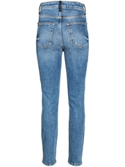 STRAIGHT FIT PINATEX DETAILED JEAN