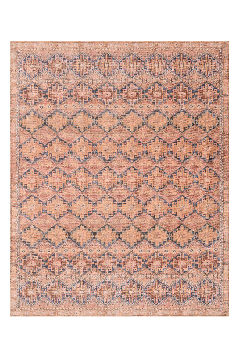 Deven Collection Persimmon / Indigo Magnolia Home By Joanna Gaines (229x290) - ENTREGA FINES OCTUBRE