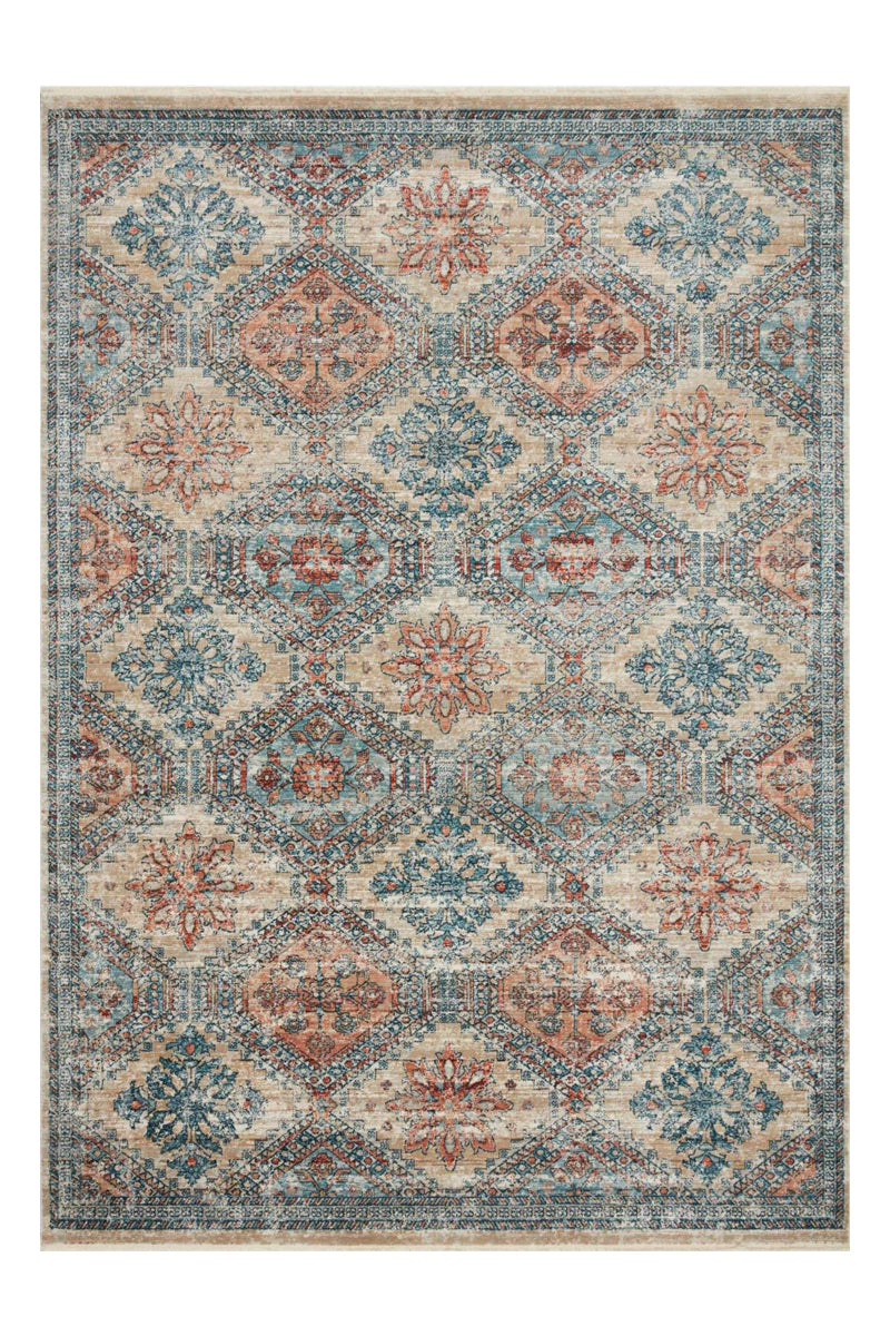 Elise Collection Multi / Blue Magnolia Home By Joanna Gaines (201x298) - ENTREGA FINES DE OCTUBRE