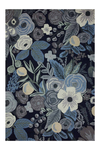 Joie Collection Garden Party Blue Rifle Paper Co. × Loloi (153x229)