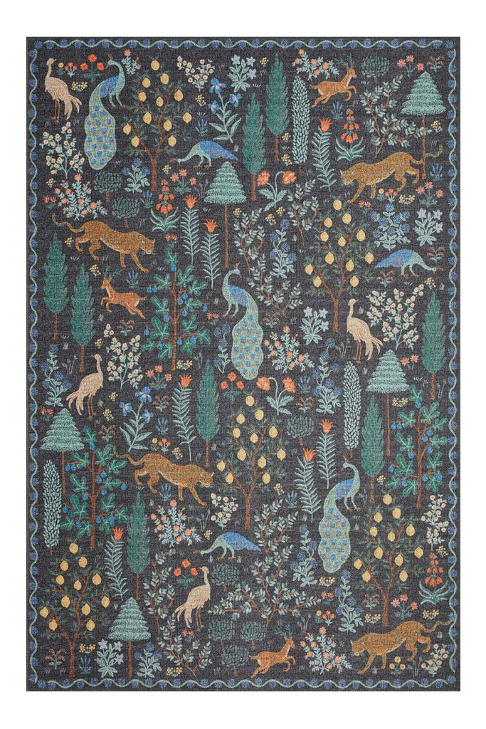 Menagerie Collection 02 Menagerie Forest Black Rifle Paper Co. × Loloi (115x176)