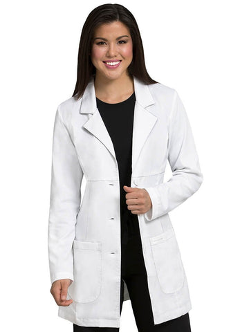 5601 EMPIRE MID LENGTH LAB COAT - Elegant Scrubs & Apparel