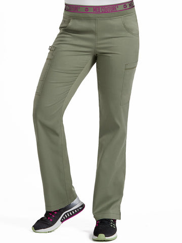 7739 YOGA 2 CARGO POCKET PANT (Size: XS/T-XL/T) - Elegant Scrubs & Apparel