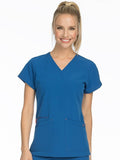 8537 V-NECK TOP - Elegant Scrubs & Apparel