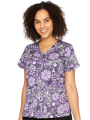 8564 (ASPL) Assorted Petals - Elegant Scrubs & Apparel
