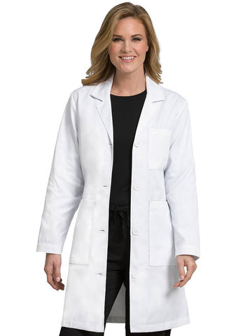 8608 3 POCKET LONG LENGTH LAB COAT - Elegant Scrubs & Apparel