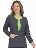 8638 ZIP FRONT WARM UP - Elegant Scrubs & Apparel