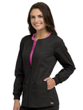 8687 ZIP FRONT WARM UP - Elegant Scrubs & Apparel