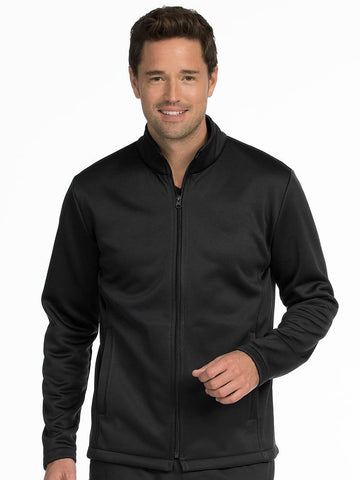 8688 MEN'S PERFORMANCE FLEECE JACKET - Elegant Scrubs & Apparel