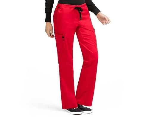 8741 2 CARGO POCKET PANT (SIZE: XS/P-XL/P) - Elegant Scrubs & Apparel