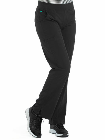 8744 YOGA 2 CARGO POCKET PANT (SIZE:2X-5X) - Elegant Scrubs & Apparel