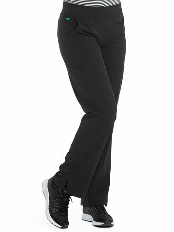 8744 YOGA 2 CARGO POCKET PANT (SIZE:XS-XL) - Elegant Scrubs & Apparel