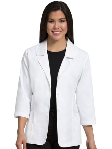 9618 CONSULTATION LENGTH LAB COAT - Elegant Scrubs & Apparel