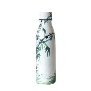 Stainless Steel Vacuum Insulated Isothermal Bottle 500ml - Noble Bamboo
