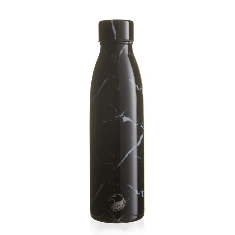 Stainless Steel Vacuum Insulated Isothermal Bottle 500ml- Nero